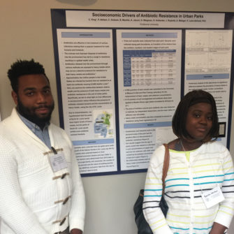 Students present at the MO Academy of Science