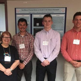 Faculty and staff present at the MO Academy of Science