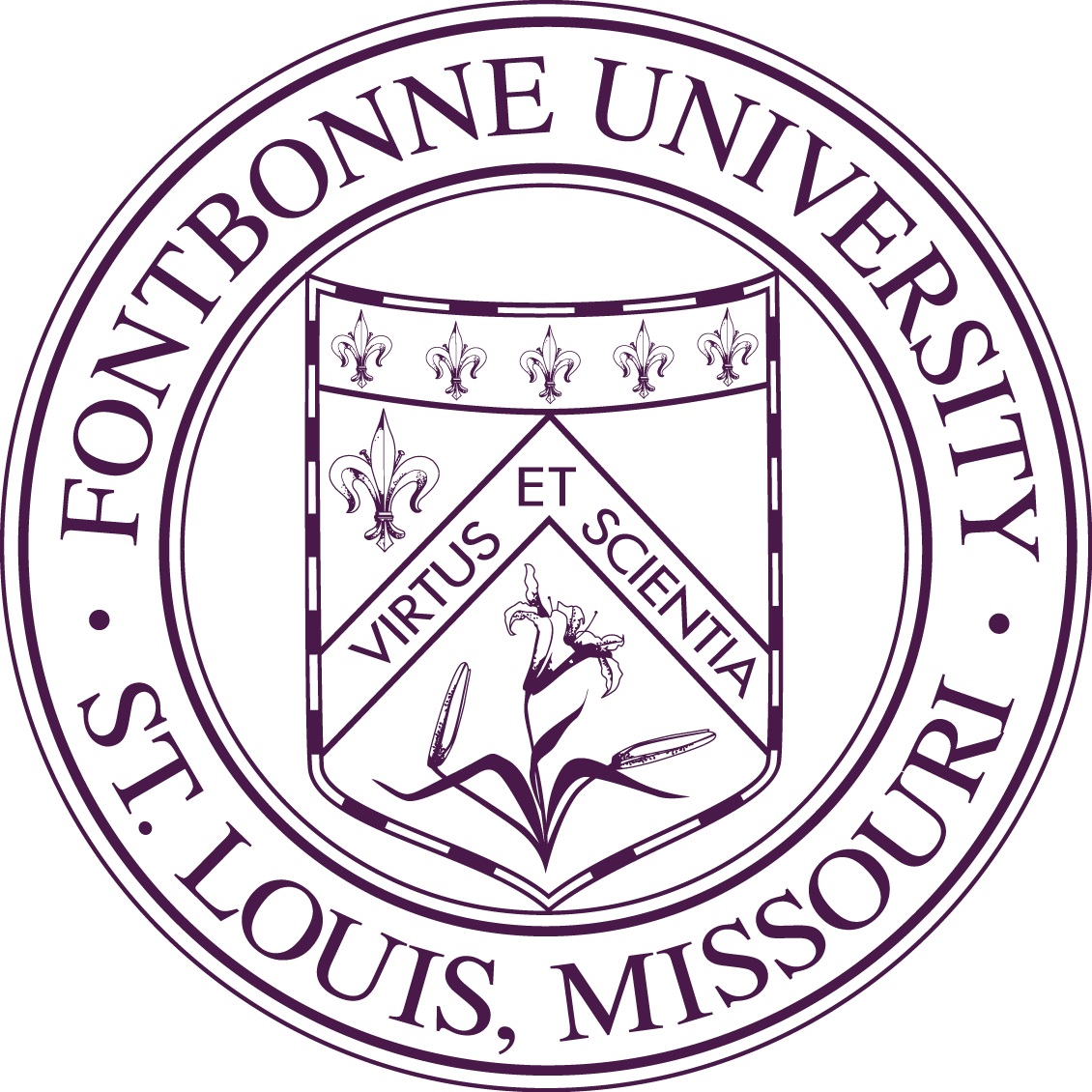 Image result for fontbonne university logo