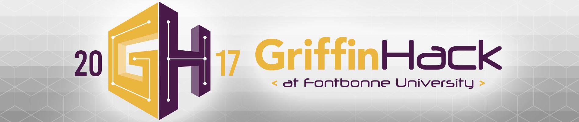 GriffinHack 2017 Landing Page Banner
