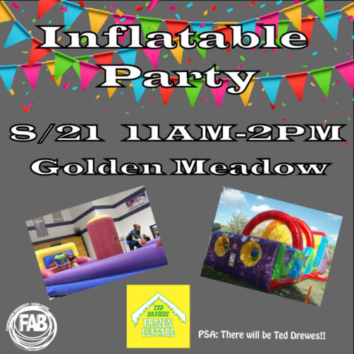FAB Inflatable Party