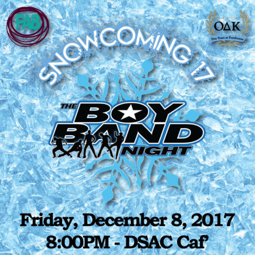 FAB SnoCo '17 Concert - The Boy Band Night