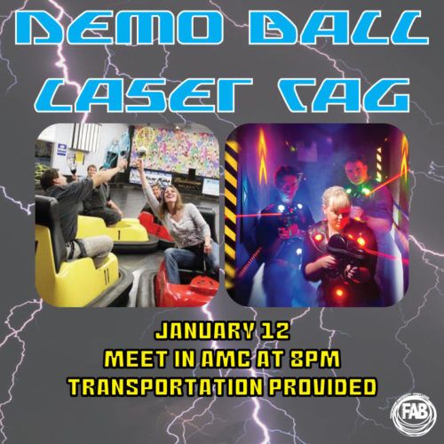 FAB Demo Ball Laser Tag '18