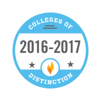 16-17 college of distinction badge