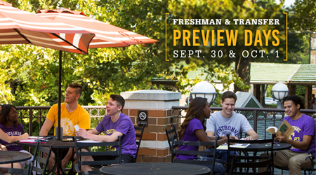 Undergraduate Preview Days