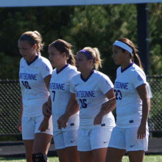 Fontbonne women's soccer players