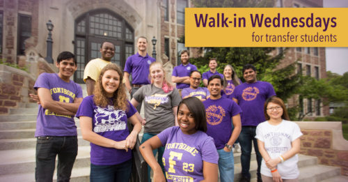 Internal Banner for Walk-In Wednesdays