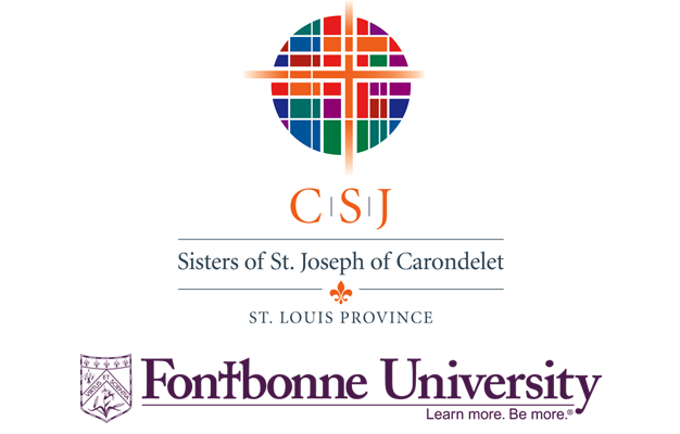 CSJ and Fontbonne logo