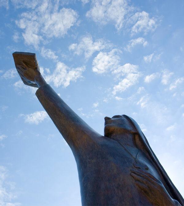 Founding Spirit statue