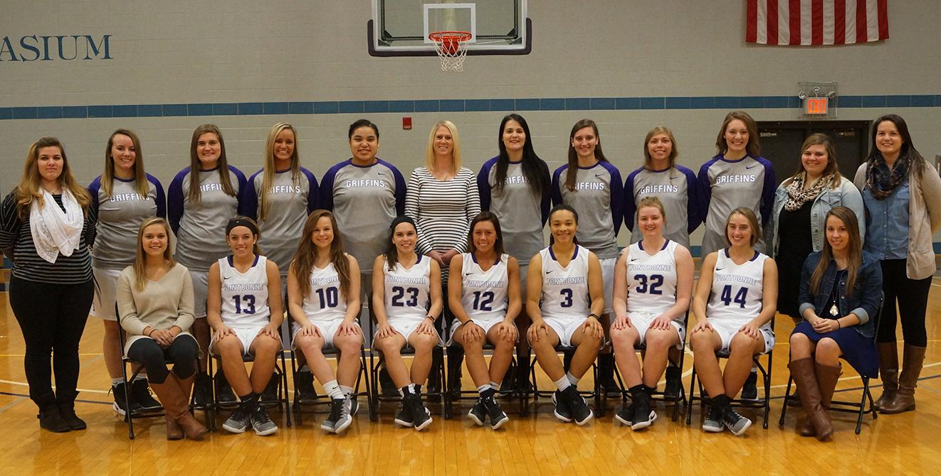 16-17 Women's Basketball Team