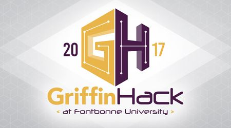 GriffinHack 2017 Internal Banner Linked to Page