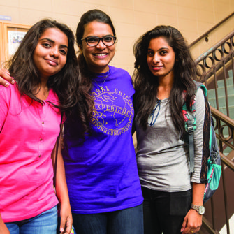 International students from India