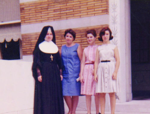 Sr. Donna Gunn with her sisters