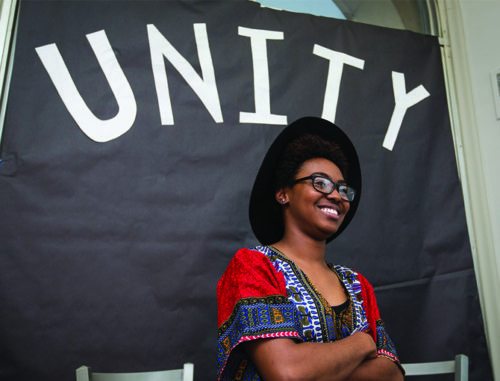Jaylah Jones at the 2016 Unity Movement.
