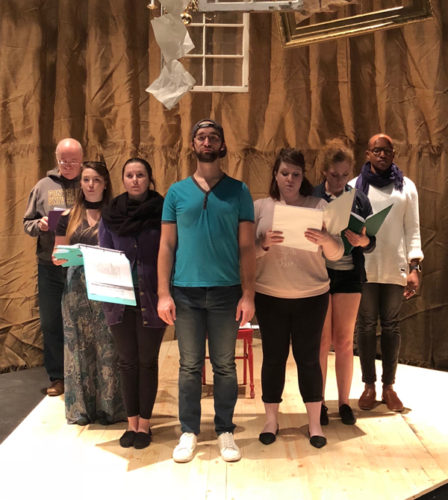 Fontbonne cast of Elegies: A Song Cycle
