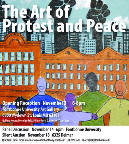 Protest And Peace Art Exhibit Information