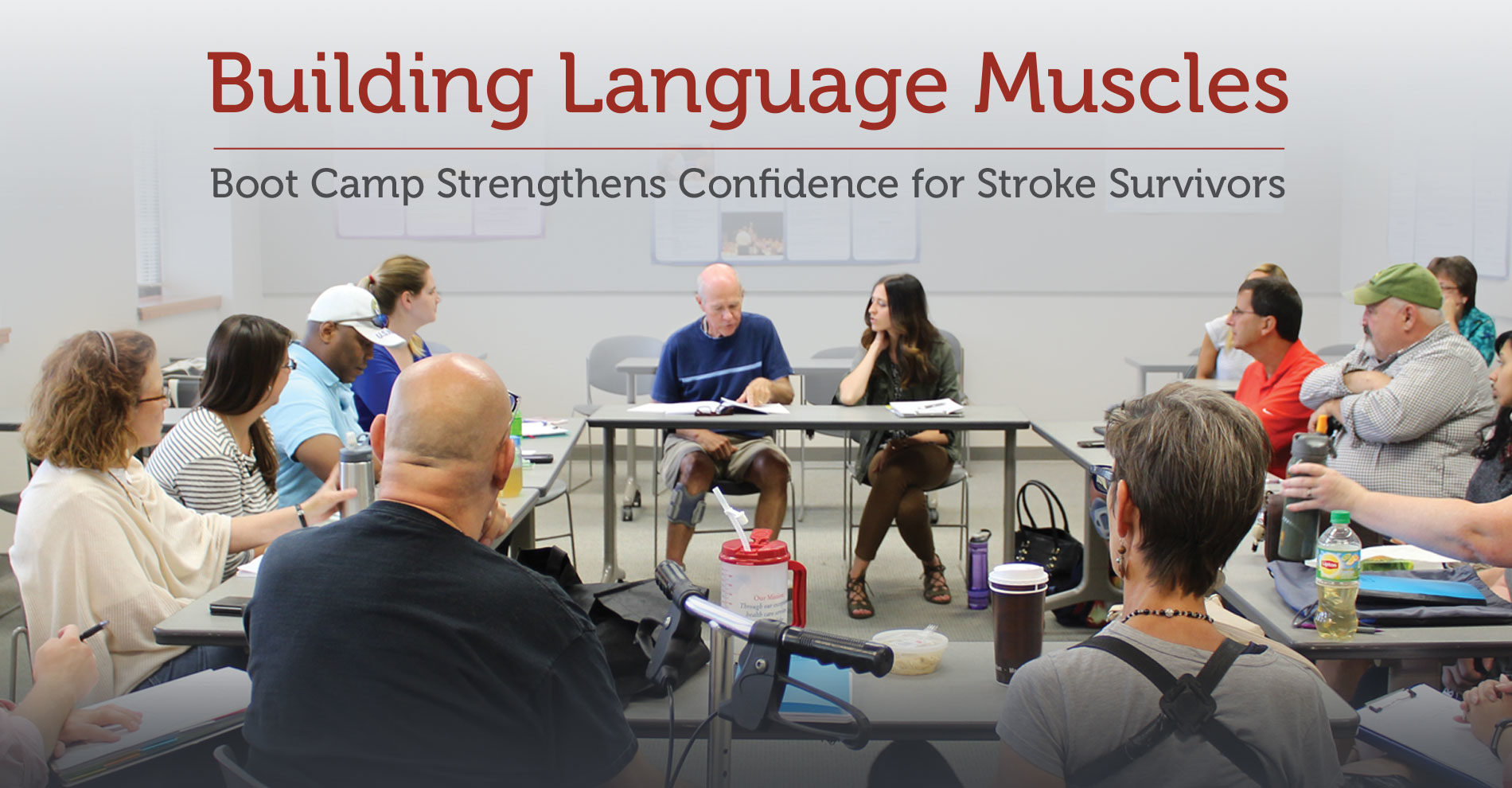 Aphasia Boot Camp in Tableaux Magazine