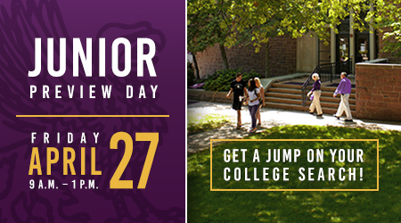 Promotion for Junior Preview Day: April 27, 2018