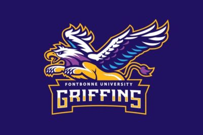 Griffin athletics logo.