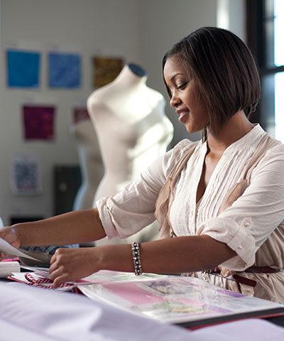 Fashion Merchandising alumni student.