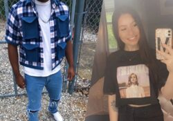 Projects by fashion merchandising students feature two refashioned t-shirts